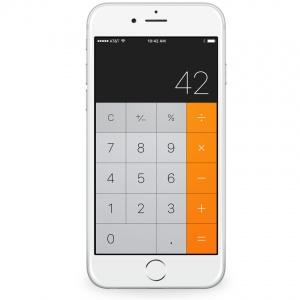 Ako vymažete v aplikácii Kalkulačka jeden znak?