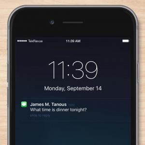 Ako vypnete v iOS 9 rozsvietenie displeja po príchode notifikácie?