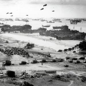 Spojenci sa 6. júna 1944 nevyloďovali v sektore