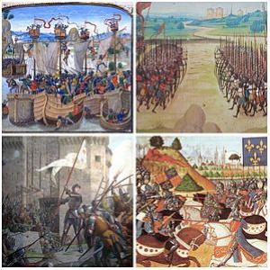Koľko rokov trvala storočná vojna medzi Anglickom a Francúzskom?
