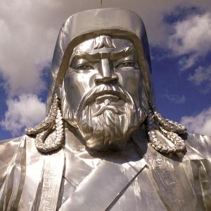 Ako sa volal vlastným menom vládca Mongolskej ríše Džingischán?
