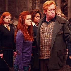 Seřaďte sourozence Weasleyovy od nejstaršího po nejmladšího