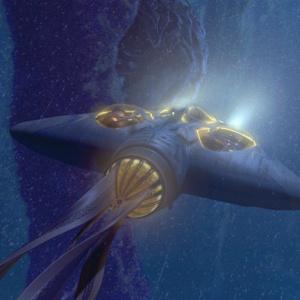 I: Jak se jmenoval druh transportu, kterým se Obi-Wan, Qui-Gon a Jar Jar dostali skrz jádro planety?