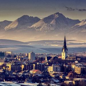 Ktorý z názvov slovenského mesta na obrázku nižšie sem nepatrí?