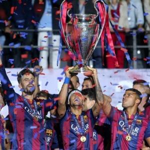 V ktorom roku sa hralo finále Ligy Majstrov, vktorom Barcelona zdolala Juventus?