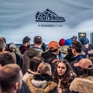 V ktorom roku otvoril Footshop vBratislave svoju prvú predajňu?