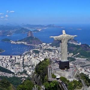 V ktorom meste nájdeš túto sochu Krista?