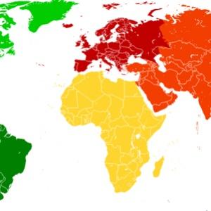 Ktorý kontinent je rozlohou najmenší?