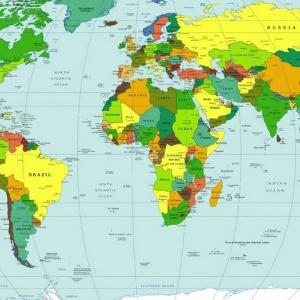 Na ktorom kontinente nájdeme najviac štátov?
