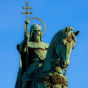 Bol korunovaný prvý uhorský kráľ Štefan I.
