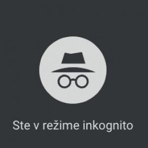 Inkognito okno na prehliadači Google Chrome otvoríš kombináciou?