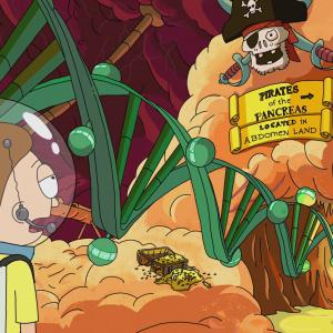 Rick nechal postaviť zábavný park vnútri tela bezdomovca. Aký niesol názov?