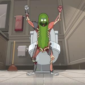 Akú prezývku dali členovia ochranky vo väzení Rickovi v epizóde s názvom Pickle Rick?