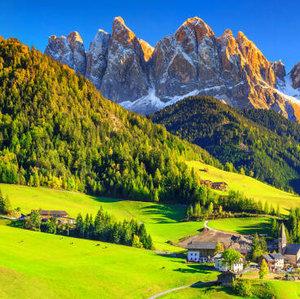 Je možné za priaznivého počasia vidieť Alpy?