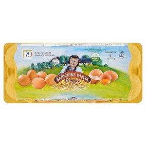 Koľko stoja vajíčka na obrázku?
