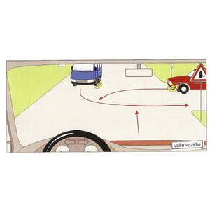 Vozidlá prejdú cez križovatku v tomto poradí: