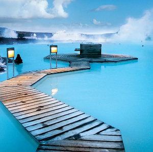 Kde sa nachádzajú liečebné pramene s názvom Modrá lagúna?