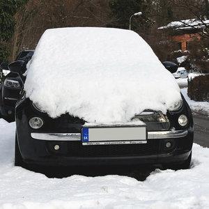 Aké vozidlo sa skrýva pod snehom?