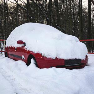 BONUS: Aké vozidlo sa skrýva pod snehom?